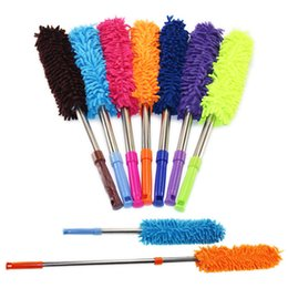 Wholesale pictures blinds - Household Cleaning Tools Scalable chenille duster Mop Duster dusting brush cleaning dust feather duster car to brush dust