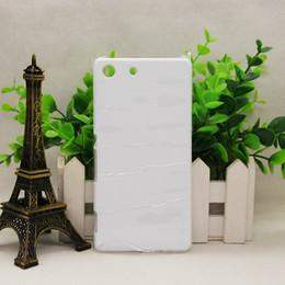 Argentina Para Sony M5 / T2 / T3 / E4 / E5 / M35H / Xperia-L1 / L2 / X Sublimación de rendimiento Teléfono 3D Mobile Brillante Estuche mate Heat press phone Cover Suministro