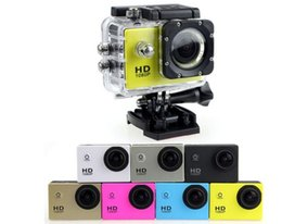 Wholesale Hd Professional Camcorder Wholesale - sport camera Waterproof sJ4000 2 Inch LCD Screen 1080P Full HD Camcorders Sport DV 30M Action Camera DHL shipping