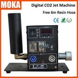 Argentina Moka MK-C09 Club Cannon CO2, Stage CO2 Cannon, CO2 Fog Jet CO2 Cryo Guns Jet Machine Equipo de DJ profesional cheap gun cannon machine Suministro