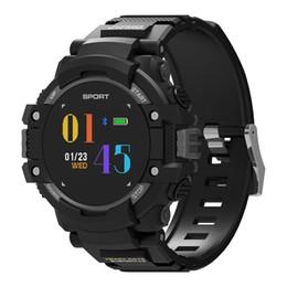 Dia de gps online-Reloj elegante NO.1 F7 Para Hombres Tiempo Real-Time Monitor de ritmo cardíaco inteligente GPS del reloj de aviso de llamada en espera Deportes 20 Días