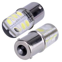 1156 COB Led Car Light P21W BA15S 1156 5050 Smd 6 Led Freno Segnale di Girata Lampadina di Cristallo Lampade Led 12 V Accessori Auto 2 Pz / set da