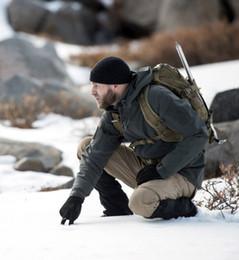 Canada Windproof Camping Randonnée TAD Gear Tactique Softshell Camouflage Extérieur Hommes Armée Sport Hoody Vêtements Ensemble Militaire Veste s vêtements de chasse Offre