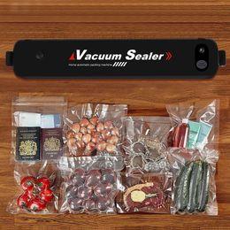 Вакуумный упаковщик с автоматическим выключателем Портативная автоматическая компактная система вакуумного запечатывания для сохранения сухих и влажных продуктов. cheap food cooking machine от Поставщики машина для приготовления пищи