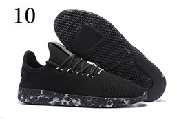 Wholesale Lightweight Mesh Breathable Hiking Shoe - 2017 Top Quality Pharrell Williams x Stan Smith Tennis HU Primeknit men women breathable Lightweight Walking Hiking Shoes Eur 36-45