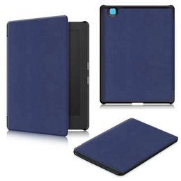 "Wholesale Stylus Stand - Folio PU leather cover case for 2017 Kobo aura H2O edition 2 6.8"" Case Ereader Protective Stand Cover + Film+Stylus Pen"