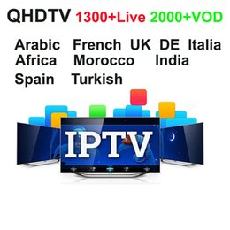 Wholesale Android Mini Usb - Android APK QHDTV VOD European Arabic IPTV Account subscription 1 Year support mag250 m3u,2.4G wireless airmouse mini fly mouse keyboard