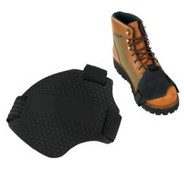 Gomma Moto Gear Shifter Shoe Boots Protezione Pad Cover Riding Shoes Scuff Moto Shifter Guards Scuff Mark cheap cover mark da marchio di copertura fornitori