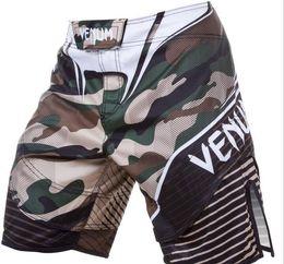 Wholesale Mma Fighting Shorts - Free shipping New Fashion MMA Machida Fight shorts-Muay Thai boxing- Sports Trunks sport shorts Sport Camo Pants Beach Shorts Swim shorts