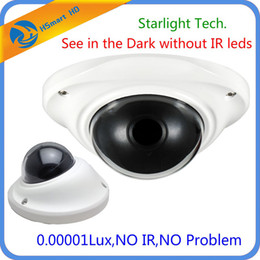 Wholesale Cctv Dvr Camera System - New Starlight Low Light Mini Dome Analog Vandalproof Dome CCTV Camera Sony 700TVL CCD 0.00001Lux Cameras For cctv dvr System