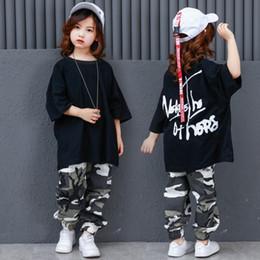 Pantalones de camuflaje Salón de baile Jazz Hiphop Street Dance Trajes de ropa  Niños Hip Hop Trajes de baile Niños Niños Niñas Mujeres Hombres b20188282ea
