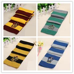 Harri Potter Bufanda Gryffindor Slytherin Hufflepuff Ravenclaw Bufandas Hermione Pañuelo para mujeres Hombres Niños y niñas niños desde fabricantes