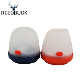 Wholesale red lantern battery - Multifunction Portable Lantern LED Camping Outing Fishing Tent Lamp 3 Modes White Red SOS Lighting High Quality LED Torch Light