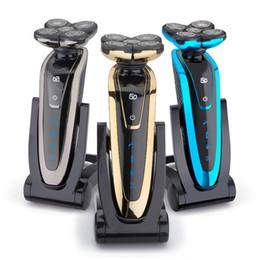 Wholesale Shaving Machine Man - 5 Blade Washable Rechargeable Electric Shaver Electric Shaving Beard Shaving Machine Razor Razor For Men