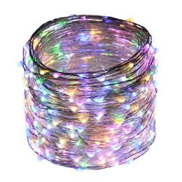 Canada La chaîne de l'adaptateur LED de télécommande de 40M / 131FT 400LEDs allume des lumières argentées de fée de fil de Dimmable pour l'illumination de vacances de Noël Offre