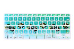 Wholesale macbook air skin protector - Soft Silicone Keyboard Protector Cover for Apple Macbook Air Pro Retina 13 15 17 Keyboard Skin