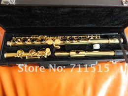 Alunos Crianças Profissional 16 Furos Fechados Além Da Flauta Chave E Banhado A Ouro Branco Cobre Corpo Flauta Instrumentos Musicais Com Caso de Fornecedores de taiwan c