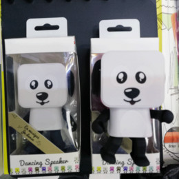 Wholesale White Robot Toy - Square robot singing dog will be multi-functional Bluetooth speaker children's toys