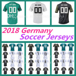 Wholesale Cup Fan - FANS PLAYER VERSION MULLER OZIL Germany soccer jersey DRAXLER 2018 WORLD CUP KROOS HUMMELS WERNER jersey football