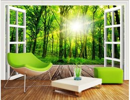 Window View Wall Mural Canada Best Selling Window View Wall Mural