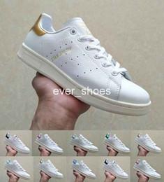 official photos 54b83 16bb5 2018 Chaussures stan smith zapatos zapatos Scarpe raf Simons mujeres  hombres casual cuero superestrellas amaestrador diseñador de zapatillas de  oro blanco ...