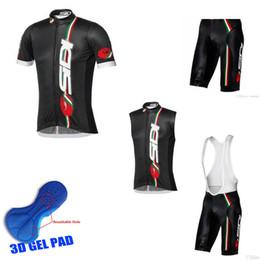 chaleco de engranajes Rebajas SIDI equipo Cycling Short Sleeves jersey (bib) shorts Chaleco sin mangas establece verano Deportes al aire libre Chándales de hombre Stylish Cycling Gear F1728
