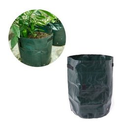 Wholesale Planter Vegetable Garden - 1Pcs PE Bags Potato Cultivation Planting Garden Pots Planters Vegetable Planting Bags Grow Bag Farm Home Garden DDA277