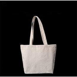 5129952b993c Blank Pattern Canvas Storage Bag Durable Chunky Folding Shopping Bags Soft  Easy To Carry Handbag Hot Sale 5 6lm3 BB easy shopping bag promotion