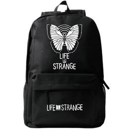 Wholesale Pack Women Game - Life is strange backpack Whatif school bag Game daypack Quality schoolbag Outdoor rucksack Sport day pack