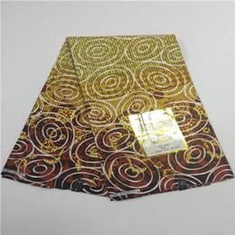 Wholesale veritable dutch wax - Fashion sewing fabric 2018 New arrival prints fabric veritable hollandais wax 6 yards guaranteed dutch wax fabric F39-1