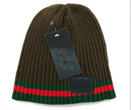 Wholesale kentucky cap - Wholesale-2018 Autumn Winter Hats For Women Men Brand Designer Fashion Beanies Skullies Chapeu Caps Cotton Gorros Touca De Inverno Macka cap