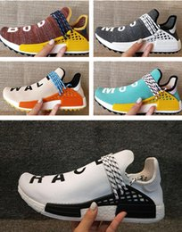 Wholesale Red Trails - Human Race Pharrell Williams Hu trail running shoes beat quality human race sneaker shoes free shipping