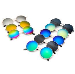 pilotensonnenbrille entspiegelte gläser Rabatt Mode Sonnenbrillen Klassische Brillen Retro Aviator Spiegel Reflektierende Linse Sonnenbrille Vintage Outdoor Brillen Frosch Sonnenbrille GGA245 100PCS