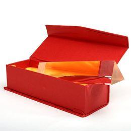 оптические призмы Скидка бесплатная доставка мини призма оптическое стекло треугольная призма учебные инструменты рефрактор физический эксперимент Радуга моделирование демо