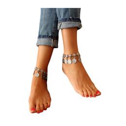 bracelet de style indien Promotion Luxe Mode Bohème Style Rétro Bracelet Bracelet Cheville Accessoires De Danse Du Ventre Accessoires De Danse Du Ventre Indien Bijoux Ac