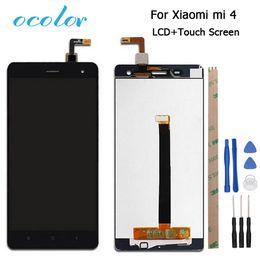 ocolor 1920x1080 FHD para Xiaomi Mi4 pantalla LCD y pantalla táctil de 5 pulgadas Asamblea de digitalizador negro blanco + herramientas + adhesivo desde fabricantes