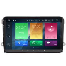 "Vw jetta dvd on-line-COIKA 9 ""Octa Core Android 8.0 / 9.0 Sistema de DVD Do Carro Para VW Passat Tiguan Jetta Golf Skoda Assento GPS Navi Estéreo de 4 + 32 / 64G RAM WI-FI OBD DVR BT 4G"