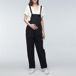 b13d513f91d1 le misure dei pantaloni delle donne Sconti Plus Size Maternity Pants 2018  Pregnant Rompers Womens Jumpsuit