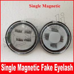 Wholesale Cheap Eye Lashes - Hot Women False Eyelashes Magnetic Lashes eye makeupTouch Soft Wear With No gule magnet eyelashes Cheap