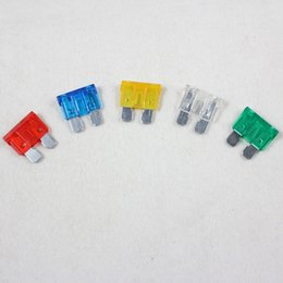 Wholesale Wholesale Fuse Holder - 10A 15A 20A 25A 30A ATO ATC ATM Blade Fuses Car Auto Truck Motorcycle Caravan Boat Fuse Holder mixed batch