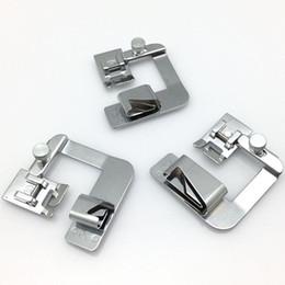 3 pcs / ensemble de pièces de couture professionnelles accessoires laminés pied presseur hemmer utilisés pour les pieds AA7187-2 de machine à coudre à faible tige ? partir de fabricateur