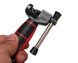 Wholesale repair bicycle chain - 60pcs Mini Bicycle Bike Cycling Steel Cut Chain Splitter Cutter Breaker Repair Tool Two Tone Grip For Comfortable Handling