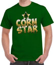 сельская жизнь Скидка Подробности zu Corn Star Funny Shirt Прохладная идея подарка Farmer Life USA Country T Shirt Смешная бесплатная доставка Unisex Casual gift