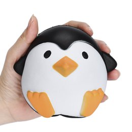 Wholesale Shape Fun - Penguin Shape Squishy Jumbo Fun Cartoon Animal Toys For Children Adult Stress Relief Squishies Popular 8 89lga BR