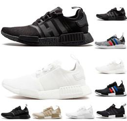detailed look b69d4 8acbc Adidas nmd R1 Venta caliente diseñador de zapatos R1 corredor Japón triple  blanco negro hombres corriendo zapatillas Og Classic Beige Oreo camo para  hombre ...