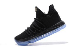 Wholesale Basketball Loop - Kevin Durant X VII EP KD7 Basketball Shoes kd 10 X Elite Rainbow Oreo Black Gold Sneakers