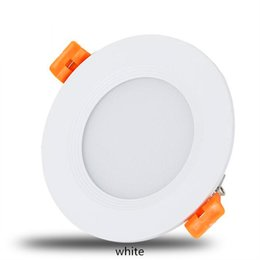 Wholesale recessed power - High Power Slim Led Recessed Ceiling Downlight 160 Angle 9W 12W 15W 18W 21W AC 85-265V Led Down Lights Warm Cool White