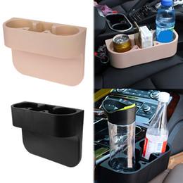 Support de tasse de voiture 3 en 1 intérieur siège de voiture Gap Organizer Portable Multi-fonction Téléphone Drink Racks de clés titulaire Support d'étagère de stockage Stand ? partir de fabricateur
