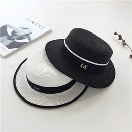 8e24aedafe1 AYLSON Summer Straw Hat Women Big Wide Brim Beach Hat Sun Foldable Sun Block  UV Protection Panama Bone Chapeu Feminino