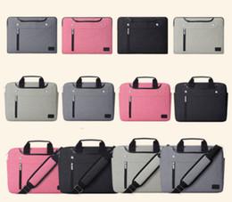 2019 15 ordinateur portable 17 pouces pour Macbook 12 13 14 15 15.6 pouces Sacoche Messenger pour ordinateur portable Sacoche à main Sac de transport 15 ordinateur portable 17 pouces pas cher